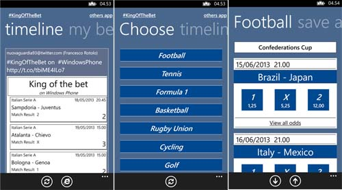 #KingOfTheBet: L'app per gli amanti delle scommesse sportive GRATIS per ..