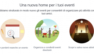 Una Nuova Home per i tuoi Eventi Facebook
