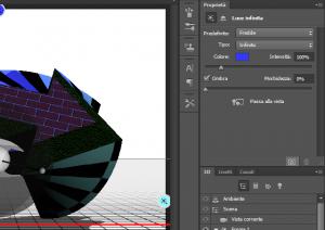 Come fare un oggetto 3d in photoshop sapere web for Programmi per rendering 3d